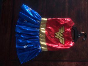 Wonder Woman Costume Dress Dog /Pet (M) for Sale in Kent, WA