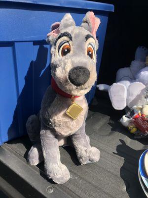 Disney tramp plush for Sale in Bolingbrook, IL