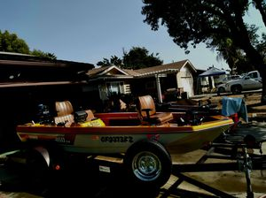 Terry fiberglass 16ft boat for Sale in Clovis, CA
