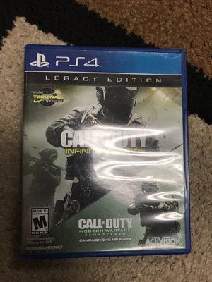 Call of Duty Infinite Warfare + Modern Warfare Remastered for Sale in Rockville, MD