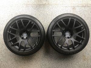 """19"""" HRE P40SC Staggered Rims & Pirelli Zero Corsa Tire Set for Sale in Herndon, VA"""