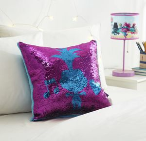 Trolls World Tour Sequin Throw Pillow for Sale in Ontario, CA