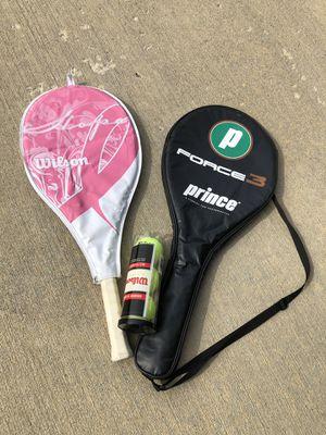 Tennis rackets couple 🏸🏸 for Sale in Carmel, IN
