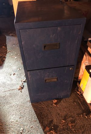 2 draw file cabinet for Sale in Newton, MA