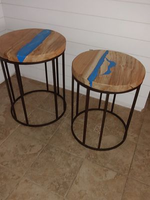 Custom made end tables for Sale in Haines City, FL