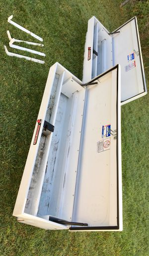 Weather Guard Heavy Duty Steel Universal SUPER Lo-Side Boxes. (((( $ 495 OBO )))) ❗️Both Boxes Use Same Key 🔑 ❗️ for Sale in Riverside, CA