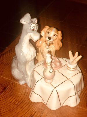 Disney Lenox Lady and The Tramp collectable for Sale in Suffolk, VA