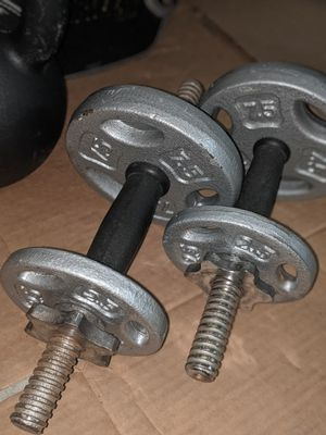 Adjustable DB handles and weights for Sale in San Jose, CA