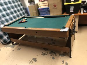 Fat Cat Billar table/Air Hockey for Sale in Portland, OR