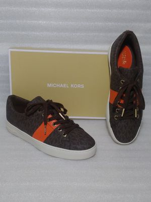 Michael Kors sneakers. Size 8 women's shoe. Brown. Brand new in box for Sale in Portsmouth, VA