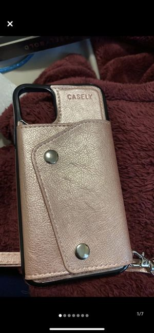 iPhone 11 wallet case for Sale in Monico, WI
