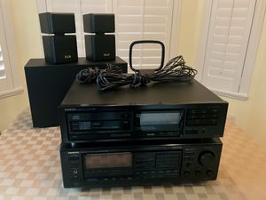 Onkyo AV Control Tuner, CD Changer and KLH Speakers for Sale in Longwood, FL