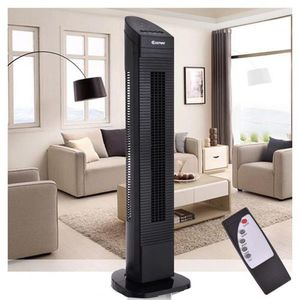 35 In. 3-Speed Portable Oscillating Cooling Bladeless Tower Fan for Sale in Rosemead, CA