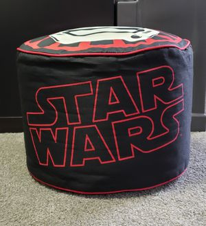 STAR WARS Bean Bag/Cushioned Seat Chair for Kids in good condition!!! Please see photos for more details. for Sale in Altadena, CA