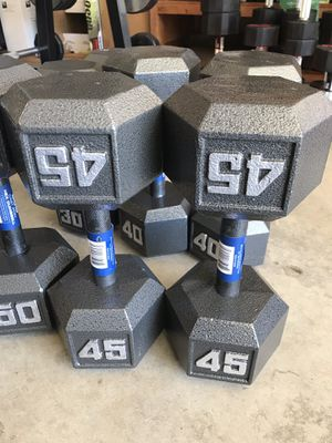 Dumbbells (2x45Lbs) for $180 Firm on Price for Sale in Walnut, CA