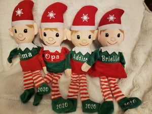 Personized elves...limited stock for Sale in Baltimore, MD