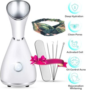 Nano Ionic Facial Steamer,CREPOW Facial Steamer Mini Portable Warm Mist Humidifier for Sale in Fontana, CA