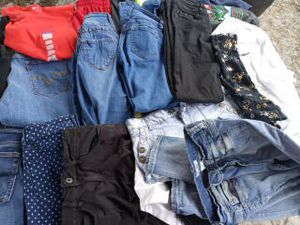 Big bagclothes jeans nice kids clothes for Sale in Oviedo, FL