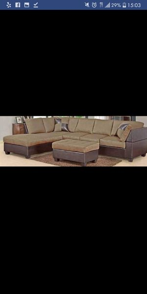 Brand New Tan Sectional Sofa for Sale in Austin, TX