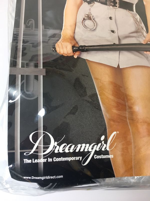 Halloween Costume Women Sexy Corrections Police Officer Dreamgirl Small