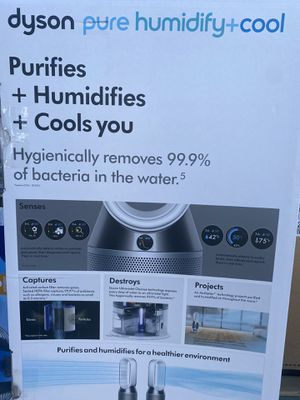 Dyson Pure PH01 Humidify and Cool . Smart Tower Air Purifier in White and Silver NEW for Sale in Tacoma, WA
