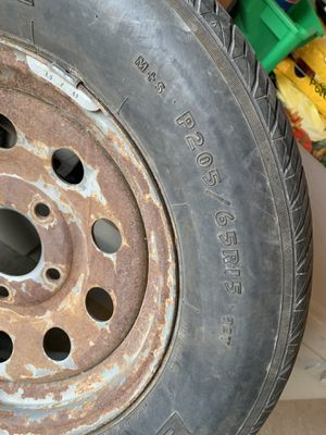 "Trailer tire 15"" for Sale in College Station, TX"