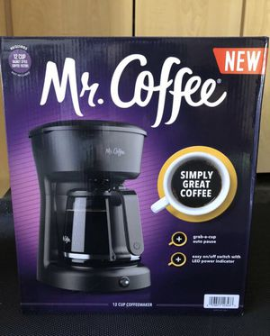 Mr. Coffee 12 cup coffee maker (Brand new in box!) for Sale in Long Beach, CA