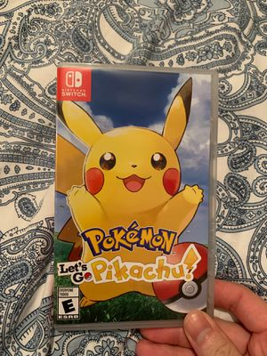 Pokemon lets go pikachu Switch for Sale in Smithfield, RI