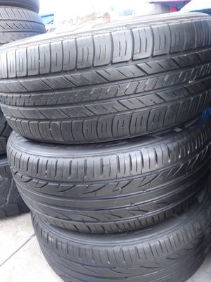 3 tires 225-55-17 for Sale in Whittier, CA