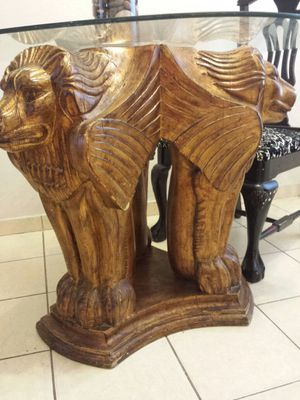 table solid wood vintage for Sale in Orlando, FL