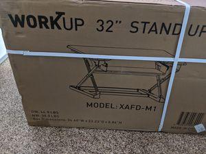 Workup standing desk for Sale in Chandler, AZ