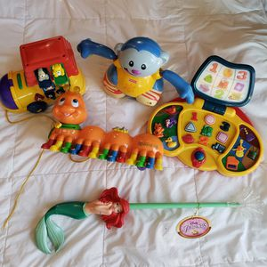 5 Learning Toys,clean house, no Smoking, no Pet, no Corona for Sale in Springfield, VA