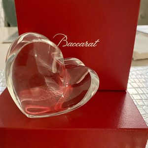 Baccarat Crystal Heart for Sale in Glenview, IL