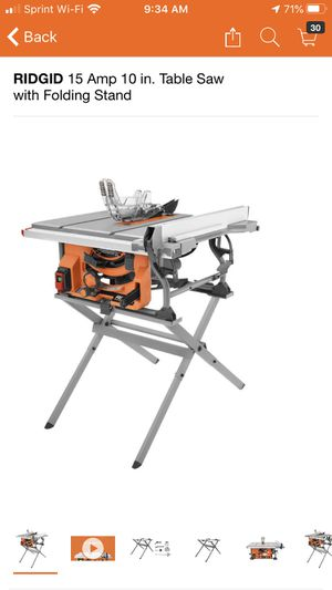 10 inch table saw with stand for Sale in Pomona, CA