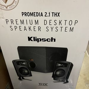 2.1 Klipsch Desktop Speakers for Sale in Orange, CA