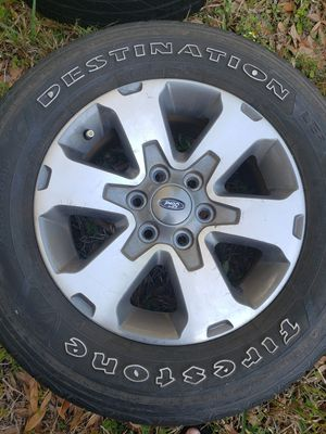 Ford F150 OEM wheels with tires for Sale in Oldsmar, FL