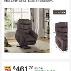 Recliner Chair/ Lift Chair for Sale in Walnut, CA