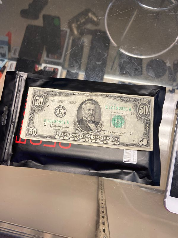 1950 Fifty Dollar Bill taking offers
