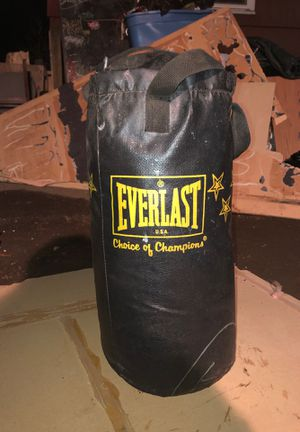 Everlast small punching bag for Sale in Seattle, WA
