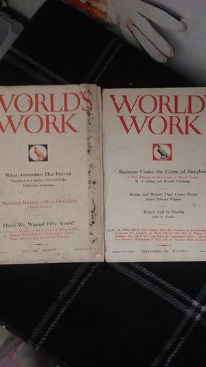 The World's Work Magazines for Sale in Chandler, IN