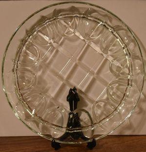 Devil Egg Glass platter for Sale in Memphis, TN