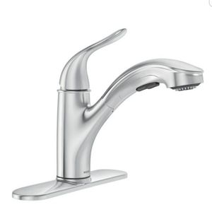 Moen Brecklyn Pullout Kitchen Faucet Chrome 87557 for Sale in Los Alamitos, CA