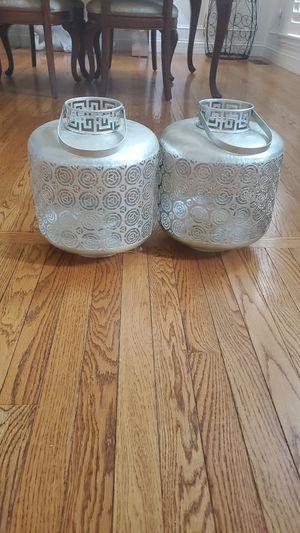 Silver lanterns for Sale in Ellisville, MO