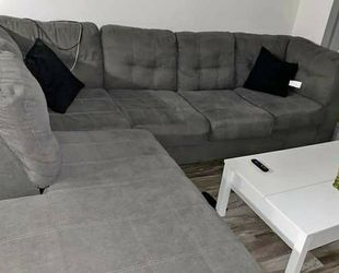 Grey Sectional Sofa Couch for Sale in Irving,  TX