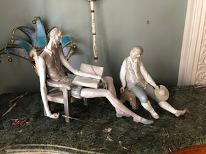 Two large Lladro Figurines: Don Quixote and Sancho Panza for Sale in Woodbury, NY
