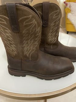 NEW ARIAT STEEL TOE WORK BOOTS for Sale in Woodinville,  WA