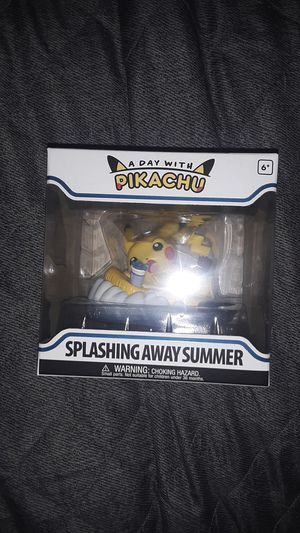Splashing Away Summer Pokemon A Day With Pikachu for Sale in Santa Ana, CA