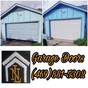 Garage Doors , new springs and Garage door openers for Sale in Dallas, TX