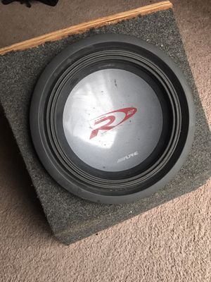 "12"" Alpine Type R for Sale in Oswego, IL"