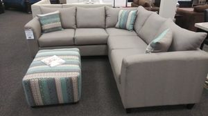 New Urban Safari Sectional With Ottoman for Sale in West Columbia, SC